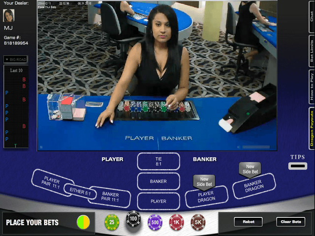 Live Dealer Baccarat Online Casino | Welcome Bonus up to $/£/€400 | Casino.com