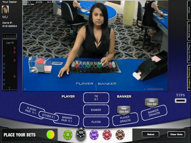 live social casino online