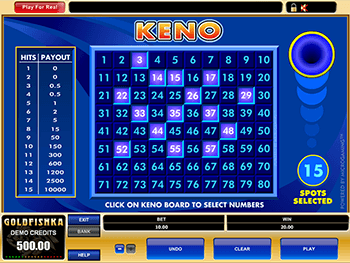 Keno Screenshot