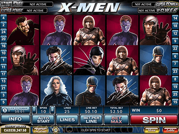X-Men Screenshot