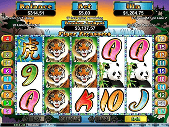 Tiger Treasure Screenshot