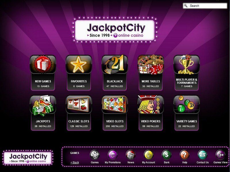 jackpotcity online casino fast money