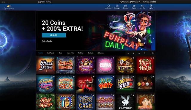 spin palace casino australia review